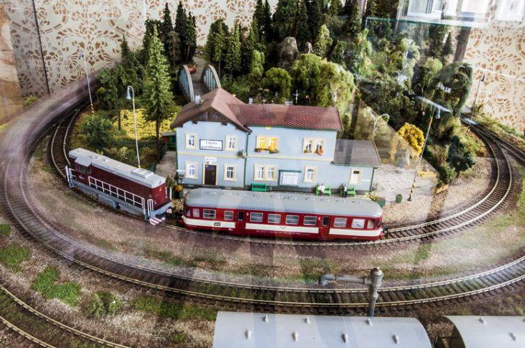 Stálá expozice – Modelové kolejiště a expozice JHMD železnice hrou