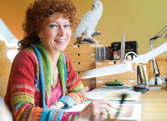 Kateřina Milerová - ilustrátorka, 20. září 2015