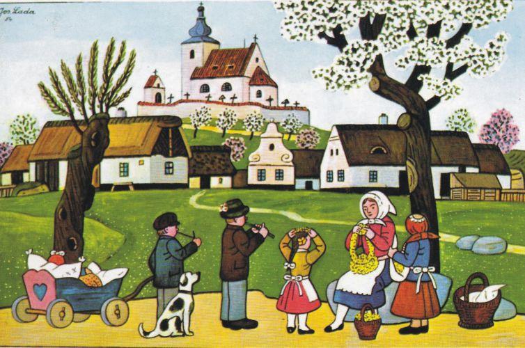 Galerie – Josef Lada – OBRAZY